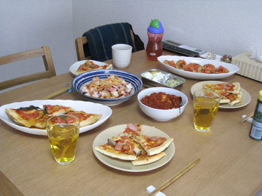 本日の料理