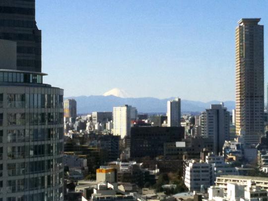 富士山(ちょっと拡大)